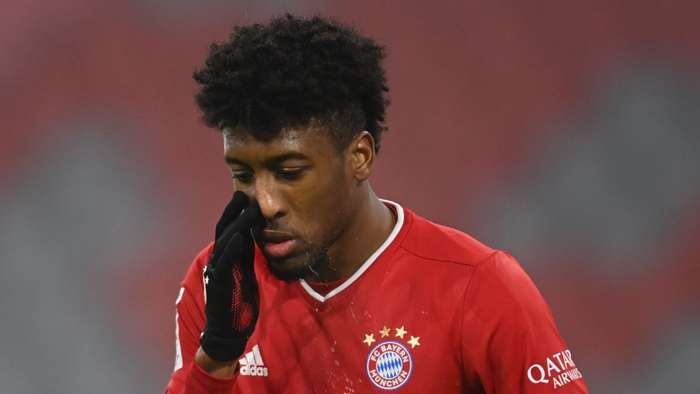 Kingsley Coman Bayern Munich 2020-21