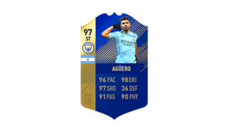 FIFA 18 Ultimate Team of the Season Aguero