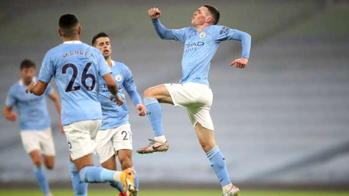 Phil Foden Manchester City 2021