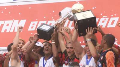 Atletico PR Championship Celebration 2001