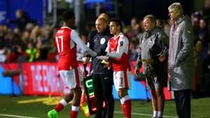 Alexis Sanchez FA Cup Sutton v Arsenal