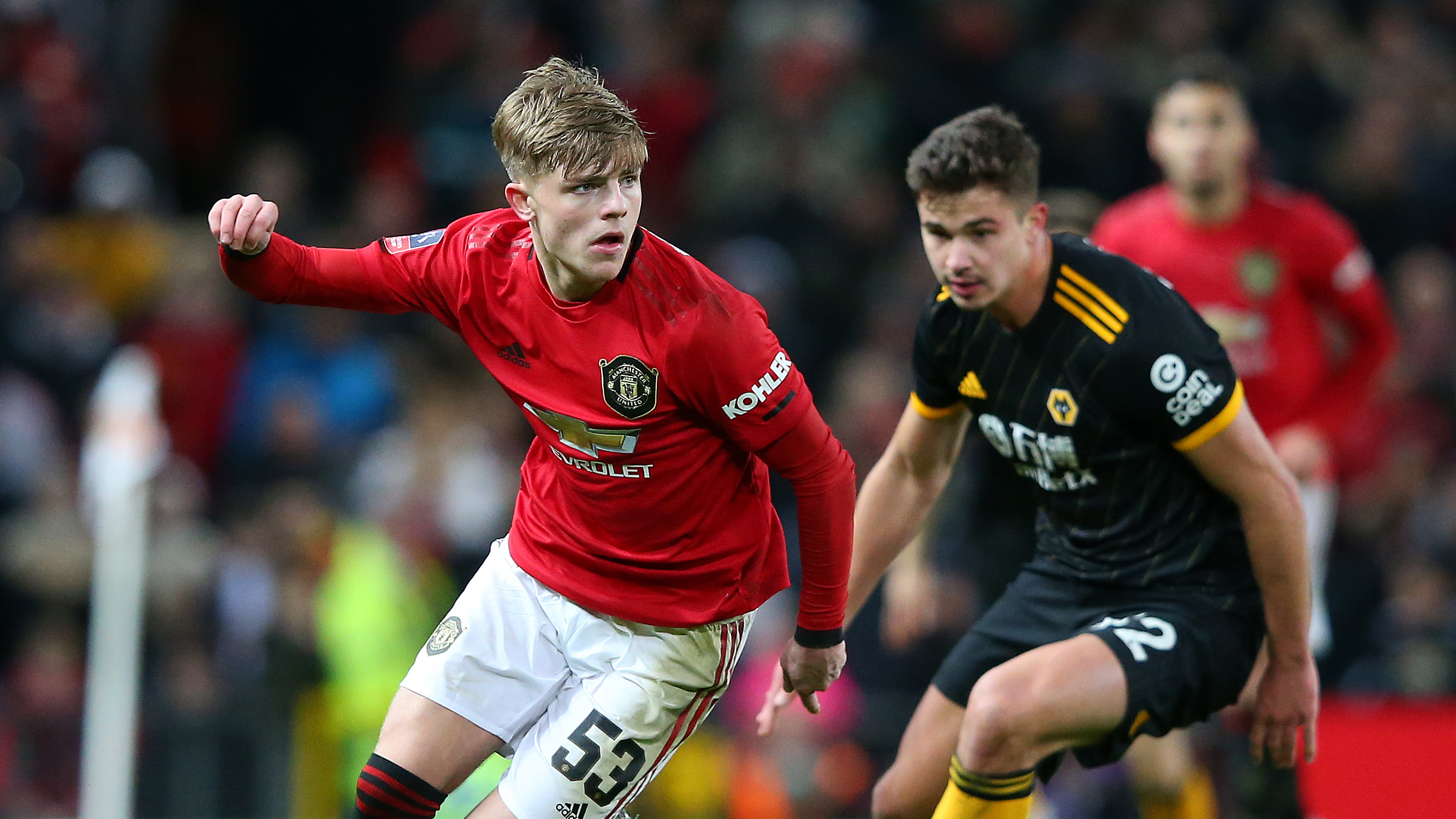 Williams Has Come From Nowhere At Man Utd Teenage Full Back Topping Greenwood Says Brown Goal Com