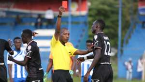 KPL referee George Mwai send off Nzoia Sugar and AFC Leopards.
