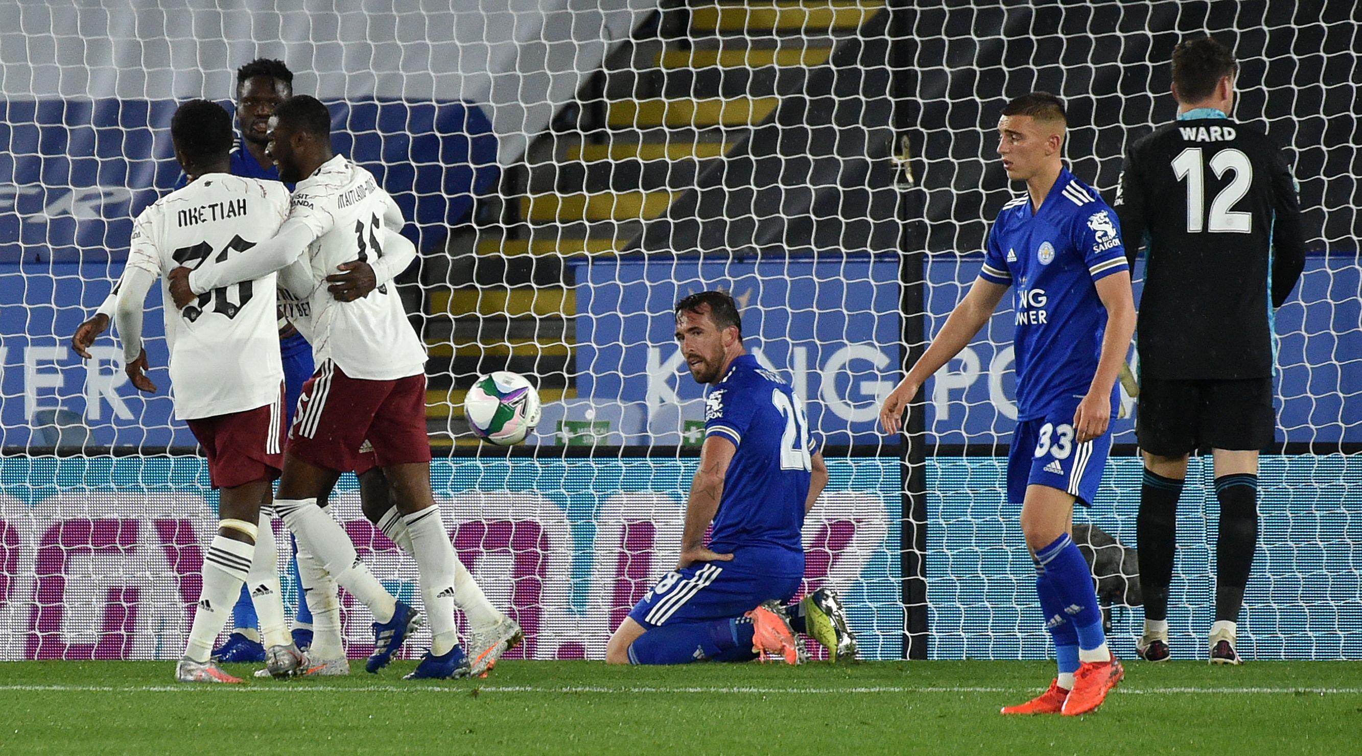 El resumen del Leicester vs. Arsenal de la Carabao Cup: vídeo, goles y  estadísticas | Goal.com