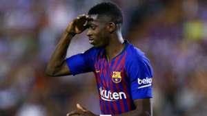 Ousmane Dembele FC Barcelona 25082018