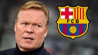 Ronald Koeman Barcelona badge