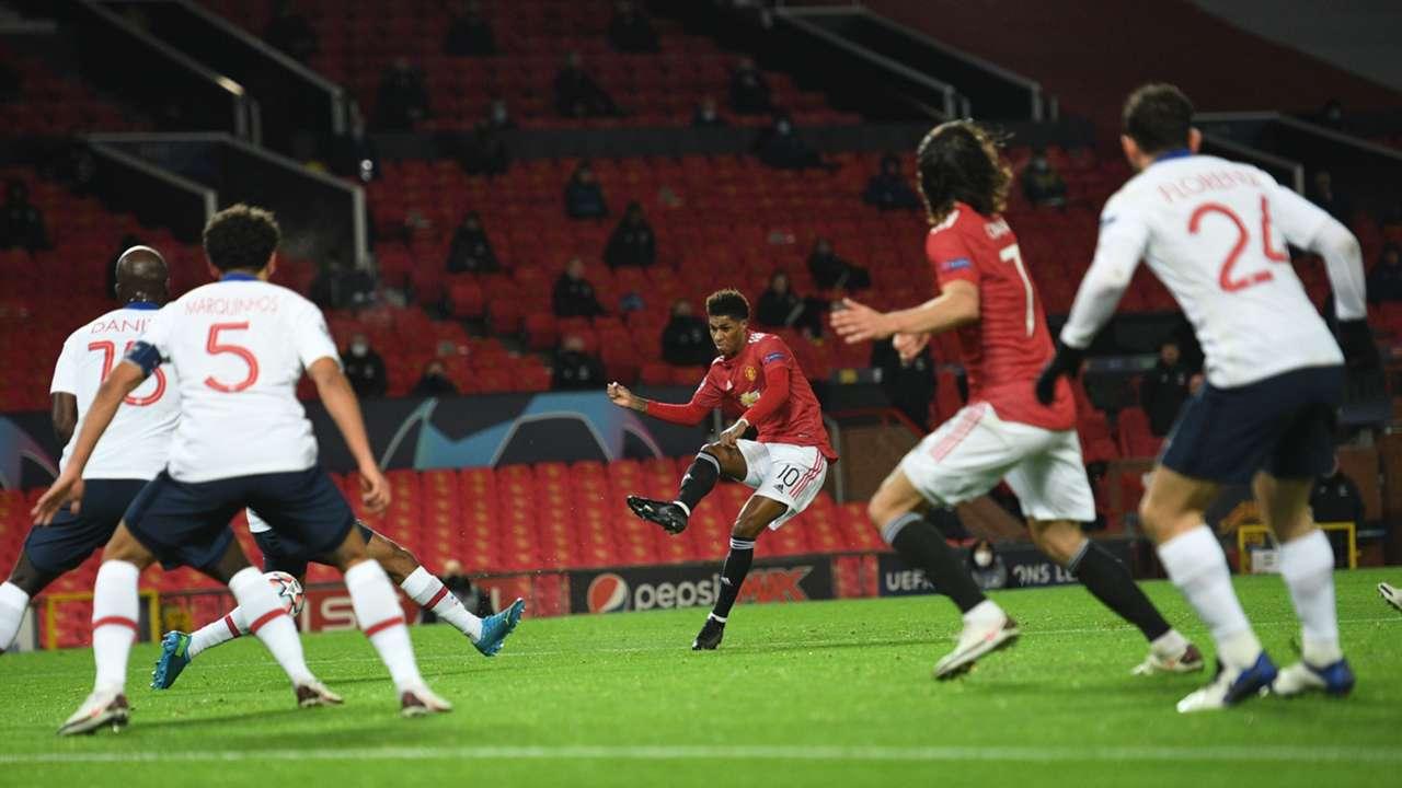 Rashford Manchester United PSG 2020