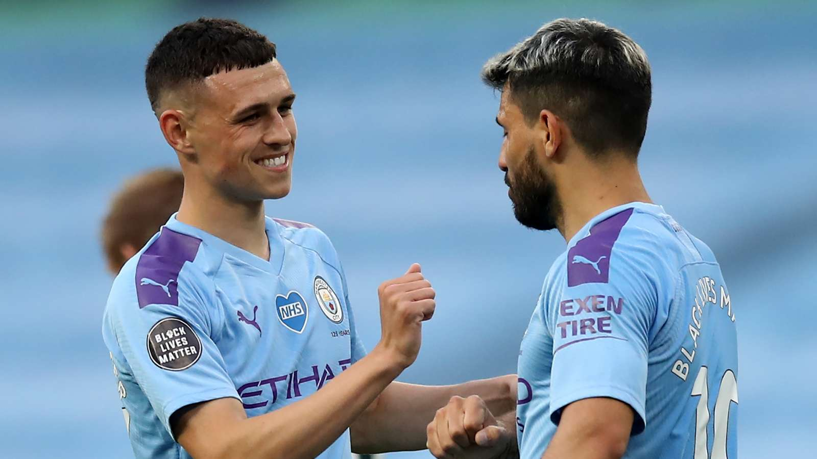 Phil Foden, Sergio Aguero, Man City