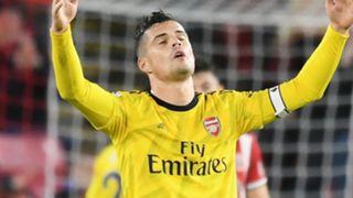 Granit Xhaka Arsenal 2019-20