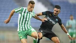 Remy Cabella Sergio Canales Marseille Betis Friendly