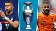 Mbappe Depay Euro 2020