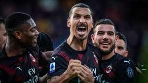 Zlatan Ibrahimovic Milan 11-01-2020