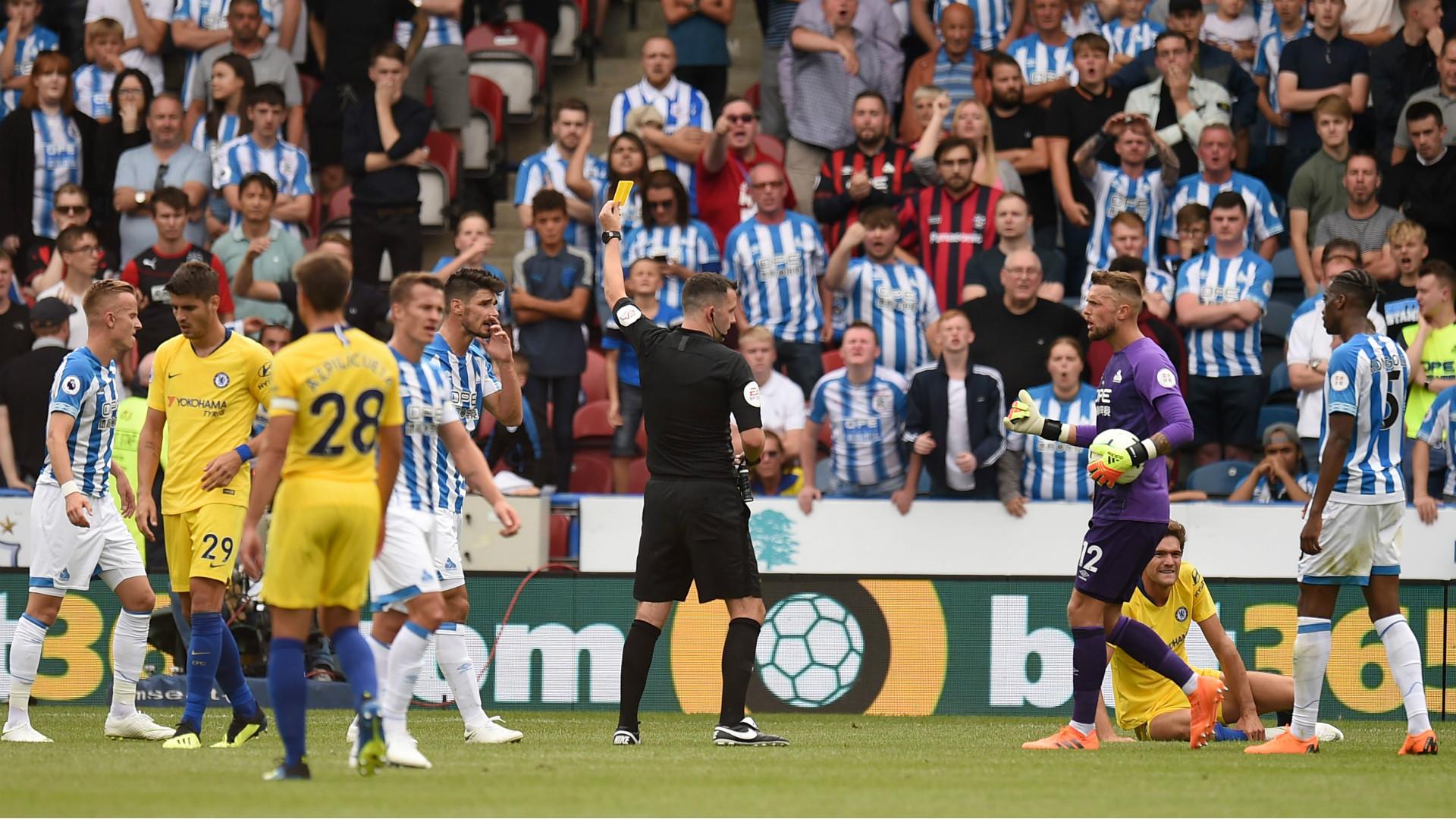 Marcos Alonso Huddersfield Chelsea Premier League