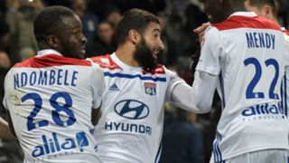 Nabil Fekir Ferland Mendy Tanguy Ndombele Lyon 2018-19