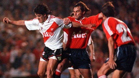 Ariel Ortega River Independiente Supercopa Sudamericana 1995