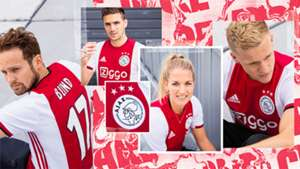 Ajax 2019-20 home kit