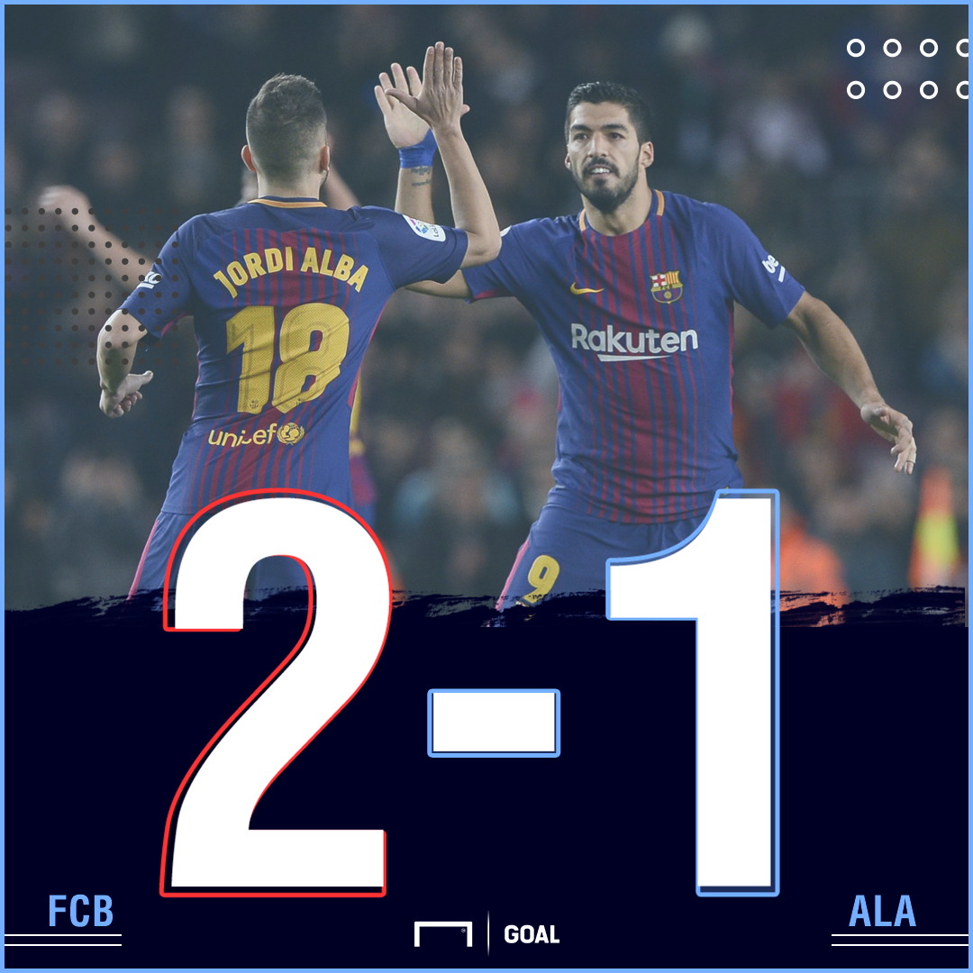 Barcelona Alaves score
