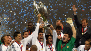 Real Madrid 2002 Champions League winners
