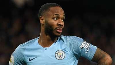 Raheem Sterling Man City 2018