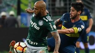 Felipe Melo Pablo Perez Palmeiras Boca Copa Libertadores 31102018