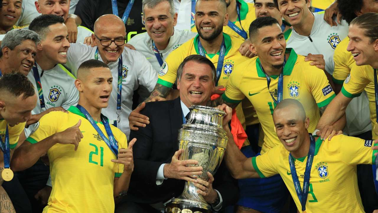 Bolsonaro Brazil Copa America