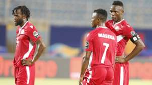 Johanna Omollo Ayub Timbe and Victor Wanyama of Kenya and Harambee Stars.