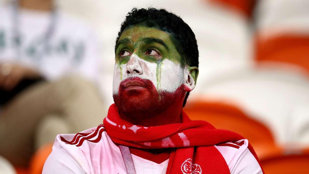 Iran fan crying World Cup 2018