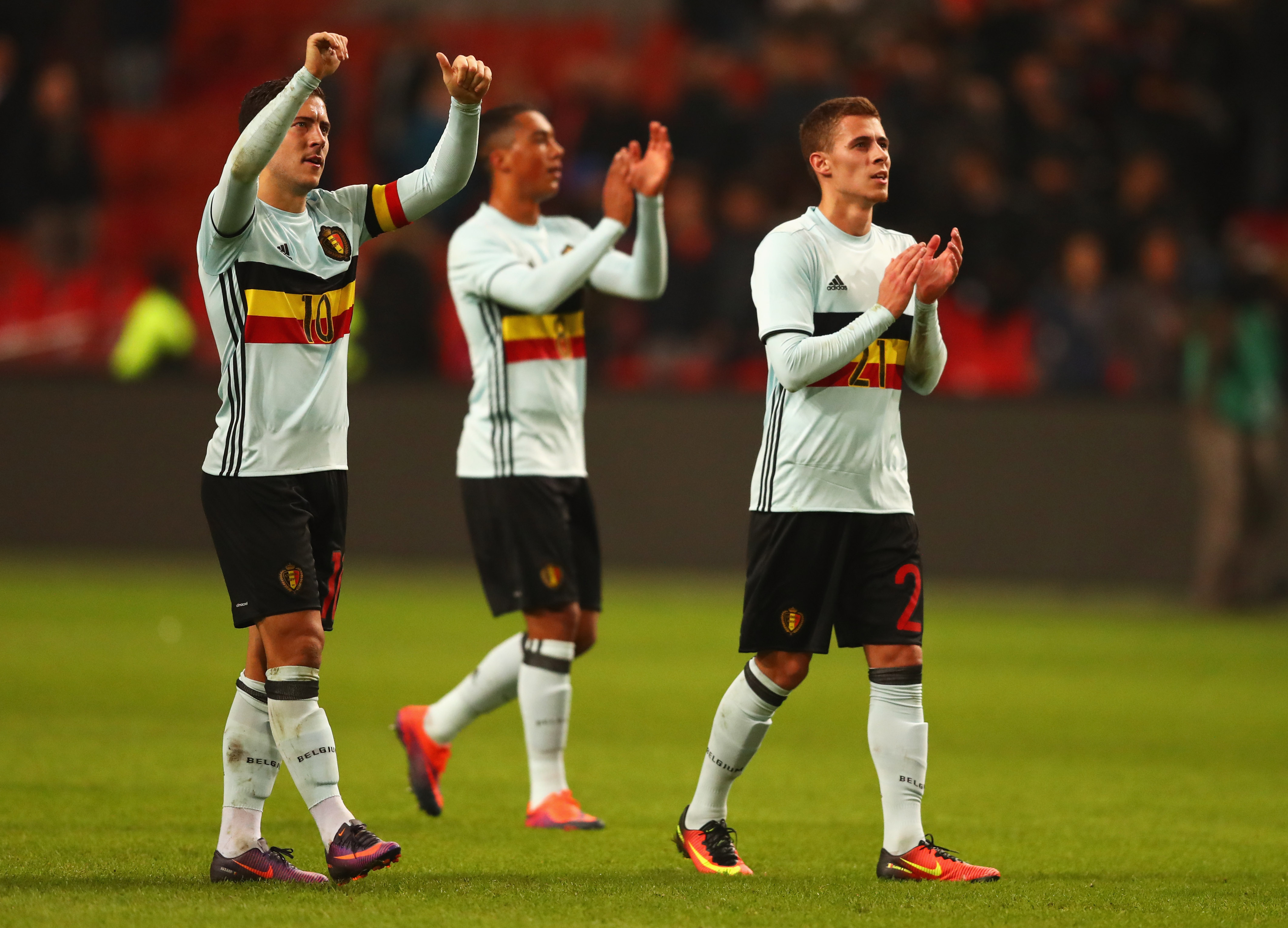 Eden Hazard Thorgan Hazard