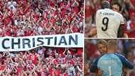 Christian Eriksen tribute Denmark Belgium Euro 2020
