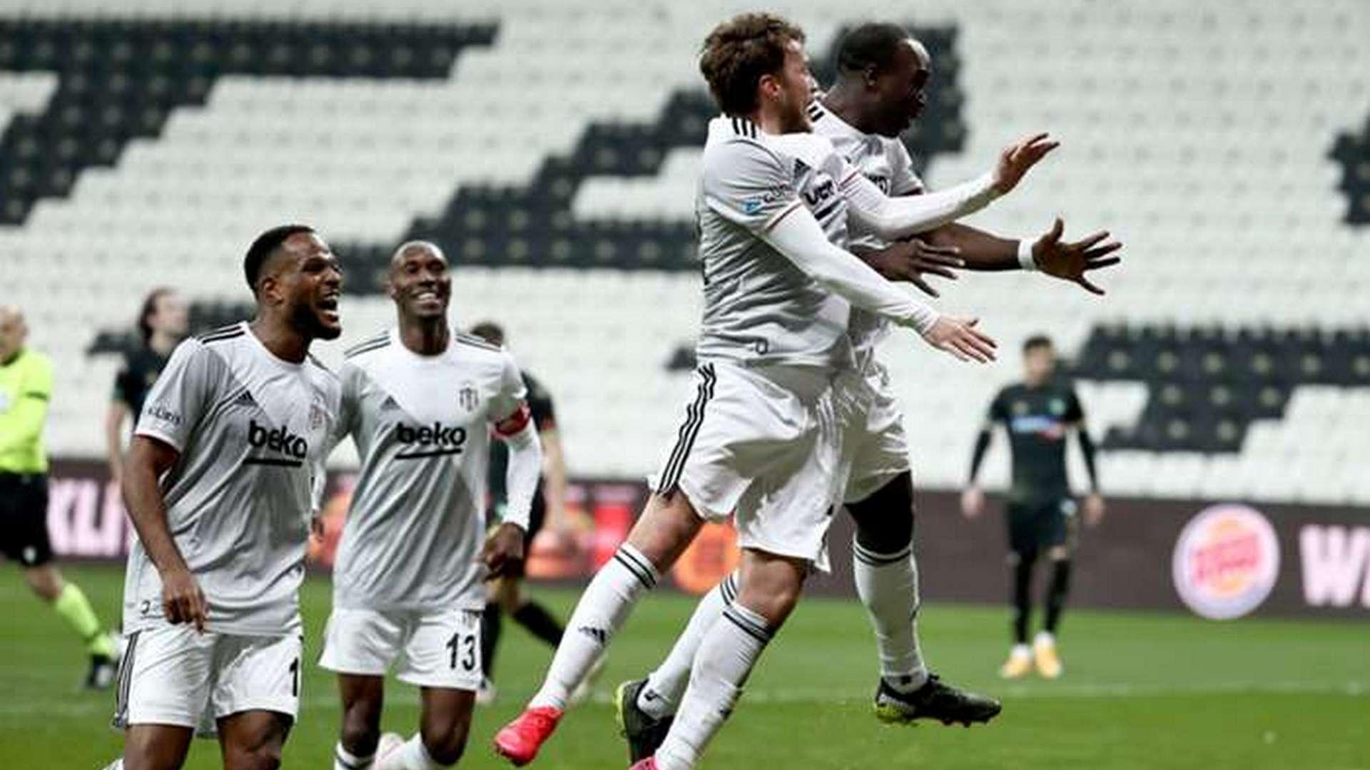 Cameroon's Aboubakar and Ghana's Mensah win Super Lig title with Besiktas in final day drama