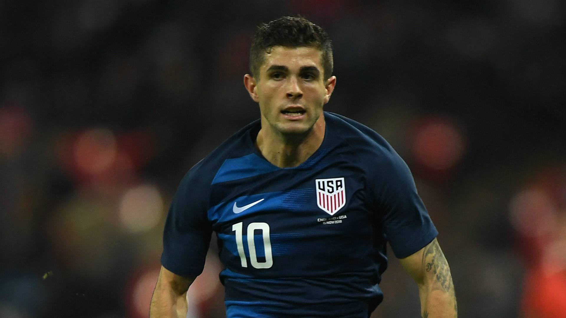 Christian Pulisic USMNT 11152018