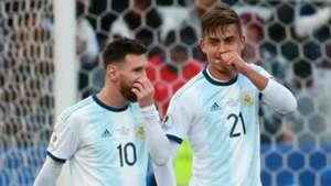 Lionel Messi Paulo Dybala Argentina Copa America 07072019