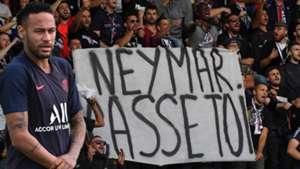 Neymar fan protests GFX