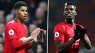 Marcus Rashford Paul Pogba Manchester United 2019-20 GFX
