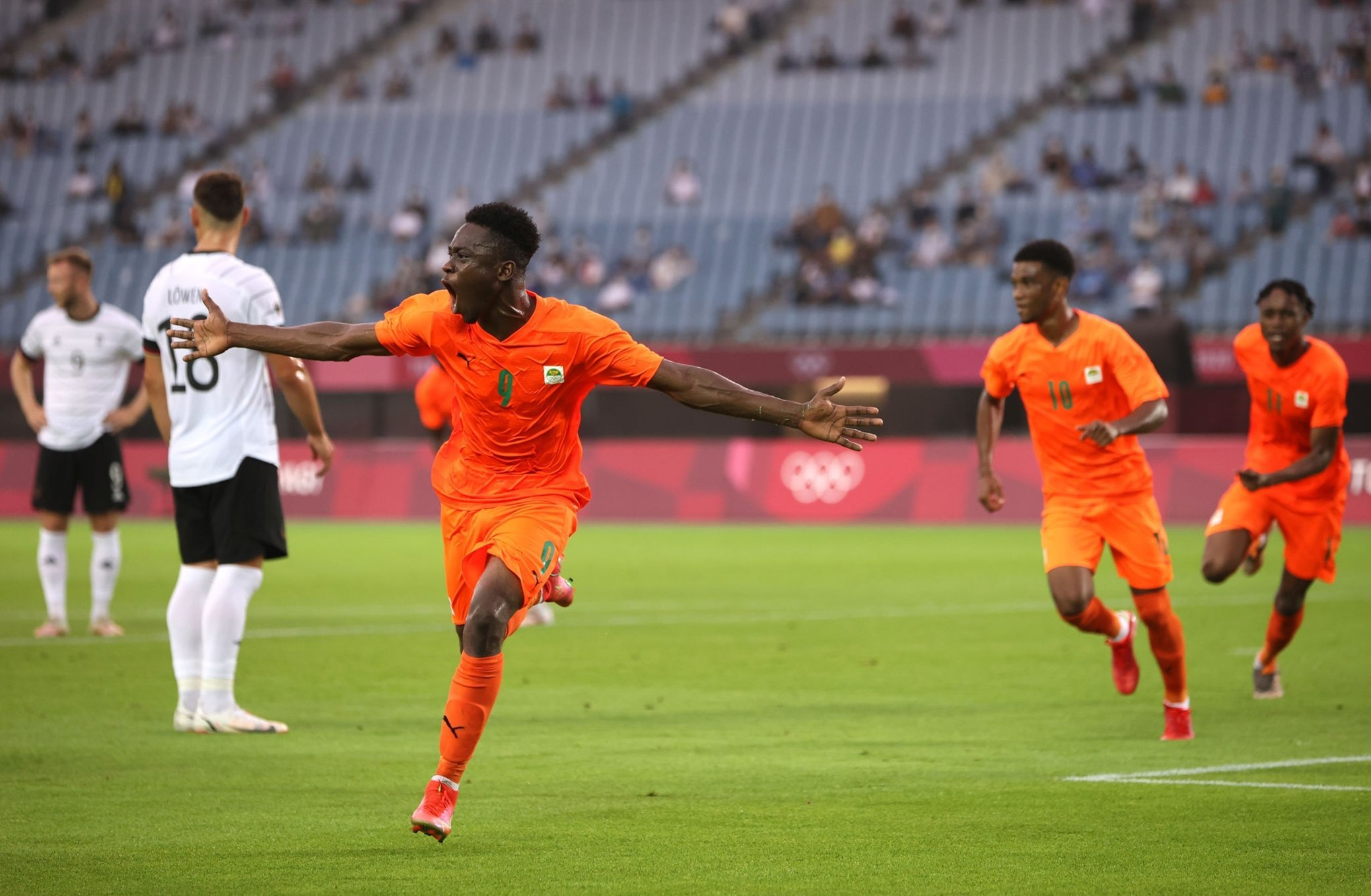 Olympics football: Ivory Coast through to quarters after Germany draw