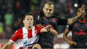 Jack Wilshere, Arsenal, Red Star, Slavoljub Srnic, Red Star Belgrade