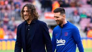 Carles Puyol/Lionel Messi Barcelona 2019-20