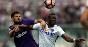 Nenad Tomovic Mame Thiam Fiorentina Empoli Serie A