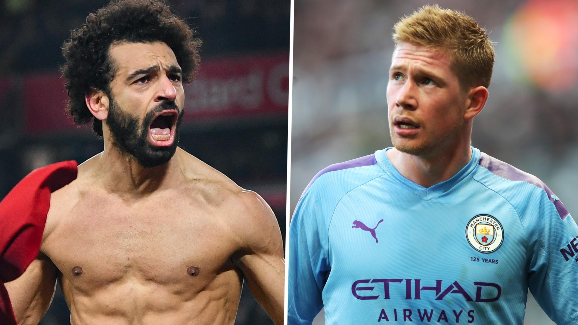 Premier League Team of the Season: Salah & De Bruyne lead ...