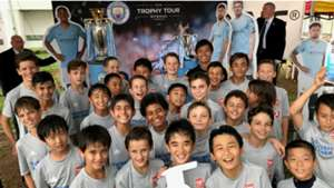 JSSL Singapore Man City trophy