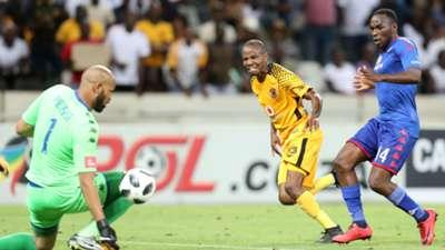 Reyaad Pieterse Joseph Molangoane Onismor Bhasera - Kaizer Chiefs v SuperSport United