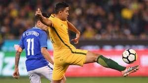 Massimo Luongo Australia v Brazil Friendly 13062017