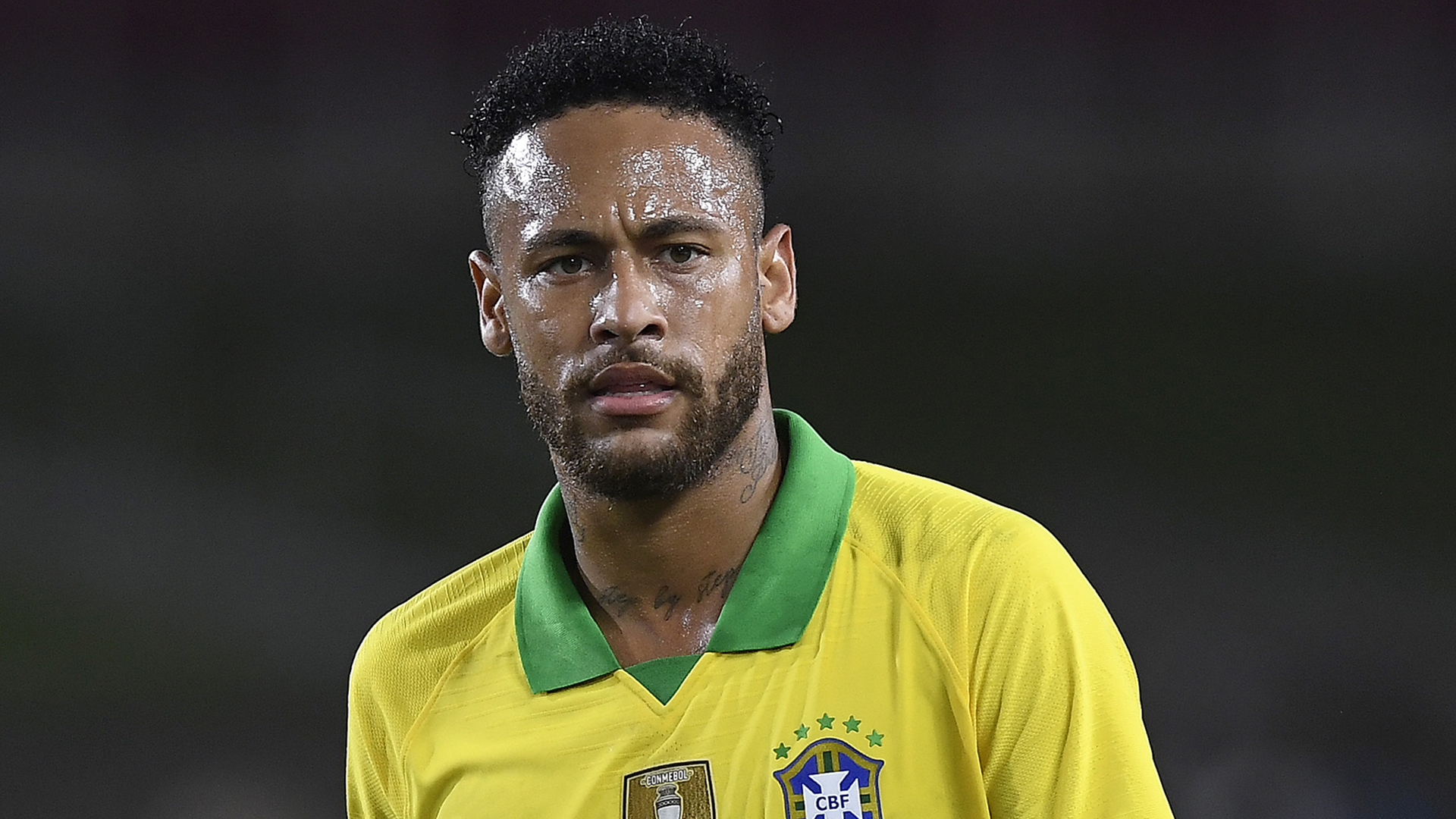 Neymar limps off with injury in Brazil draw against Nigeria