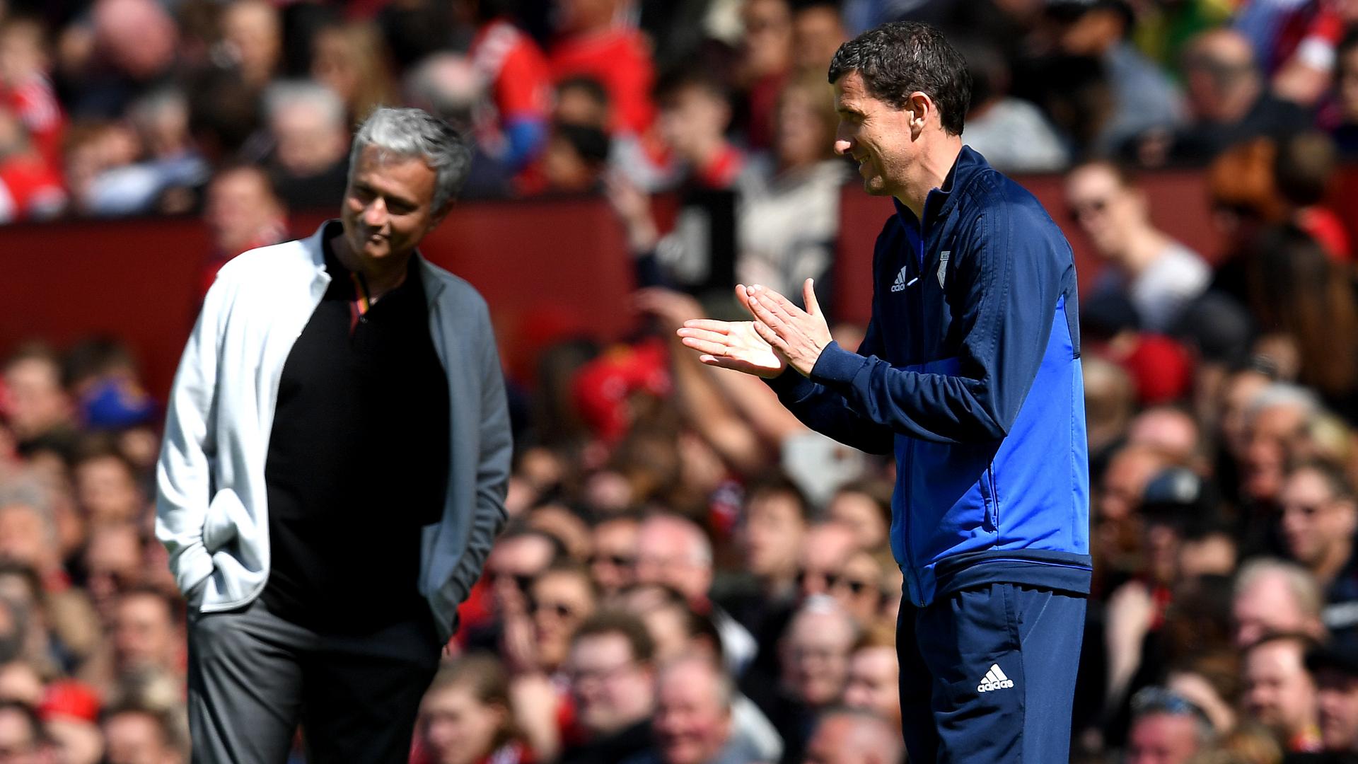 Javi Gracia Jose Mourinho Watford