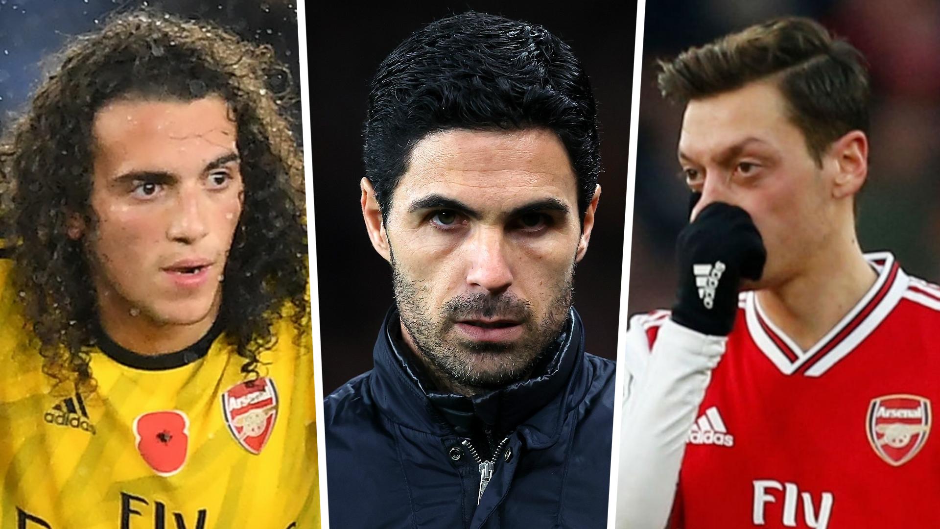 Arsenal - Arteta s'exprime sur l'avenir d'Ozil et Guendouzi