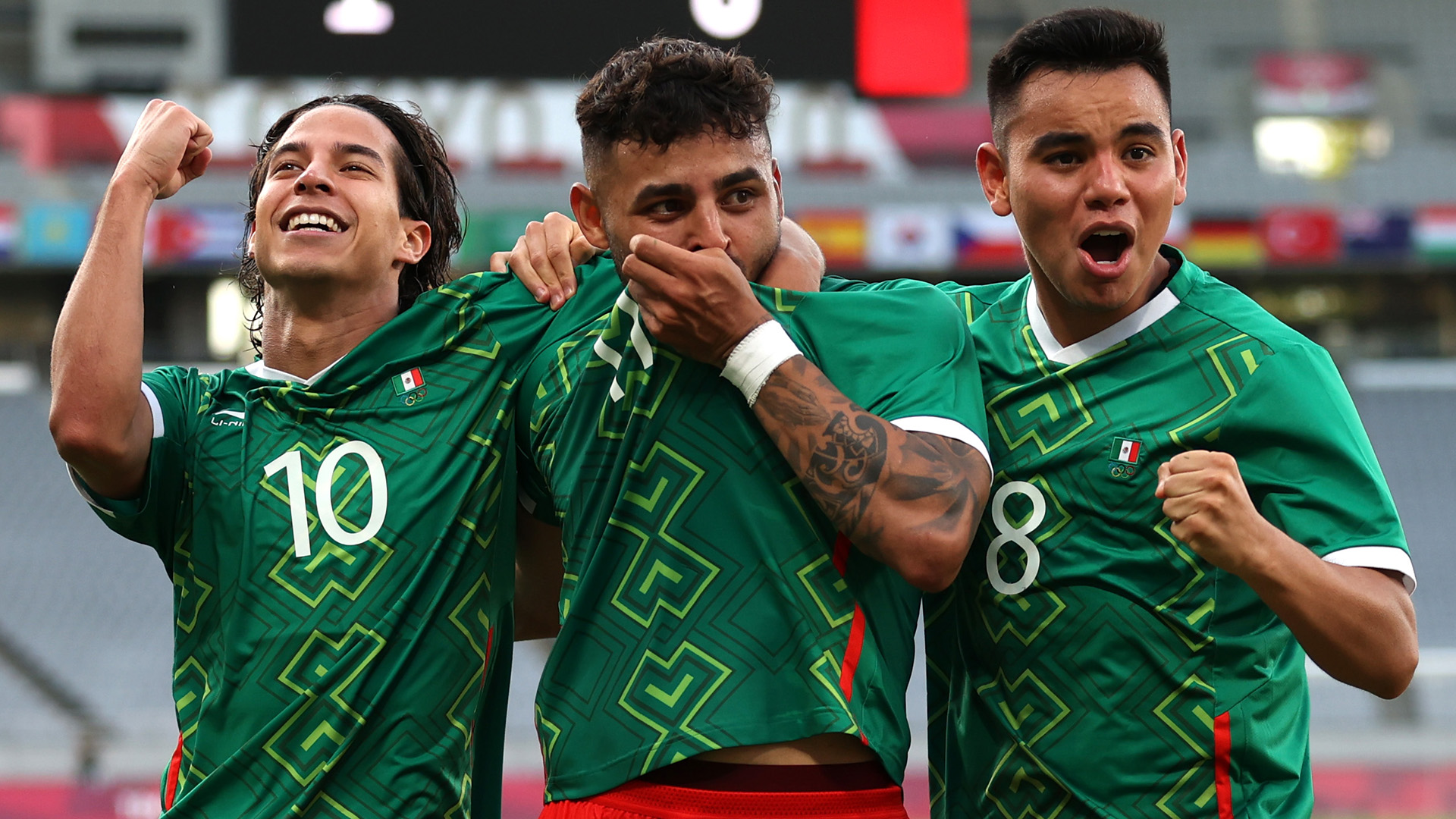 Mexico to face South Korea in Olympics quarter-finals after beating South Africa