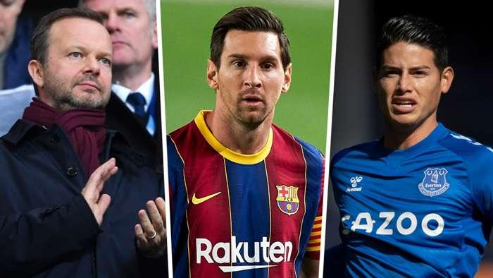 Woodward Messi James transfer GFX