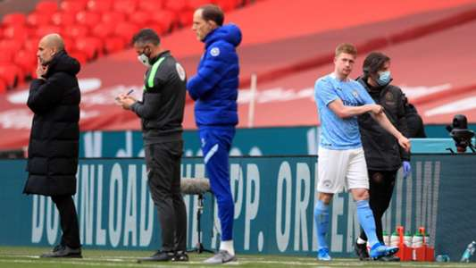 'It doesn't look good' - Guardiola worried over De Bruyne injury after Man City lose to Chelsea | Goal.com