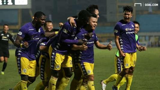 (V.League) Hà Nội FC dẫn đầu BXH, HLV trưởng vẫn có điều không hài lòng về học trò
