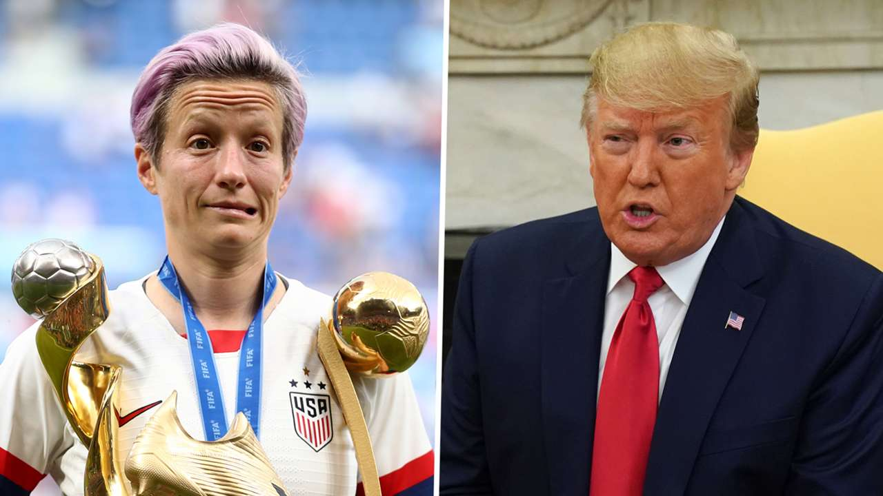 Megan Rapinoe, Donald Trump